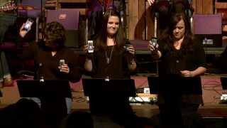 Dogwood Church Carol of the Bells 2013 with iPhone handbell choir