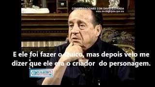 Roberto Bolaños fala sobre Carlos Villagrán (legendado)