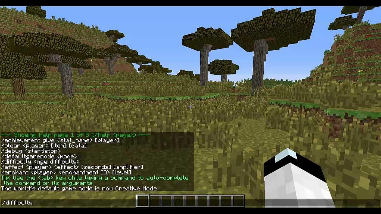 Single Player Commands Tutorial HowTo Vanilla Minecraft Help - Minecraft single player teleport command