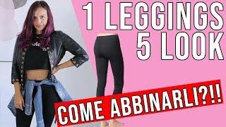LEGGINGS: come indossarli in base al proprio fisico senza sembrare VOLGARE!