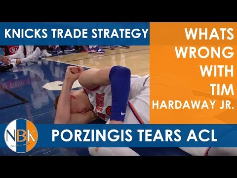 Kristaps Porzings tears his ACL; Knicks NBA Trade Deadline Strategy