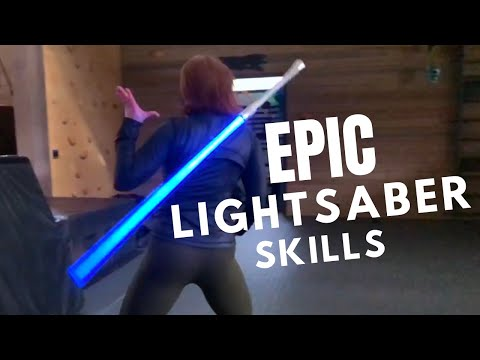 EPIC LIGHTSABER SKILLS - Real Life Jedi [MUST WATCH!]