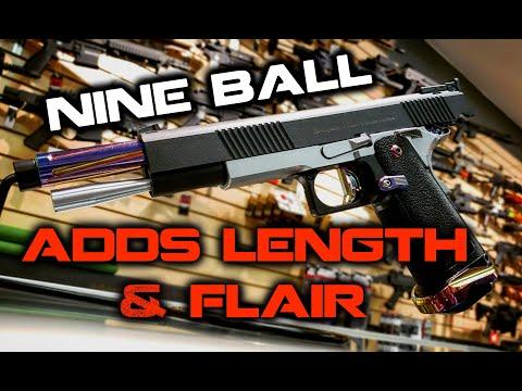 Nine Ball's SUPERB Heat Gradation Trigger Custom TM Hi Capa 5.1! - Trigger TV