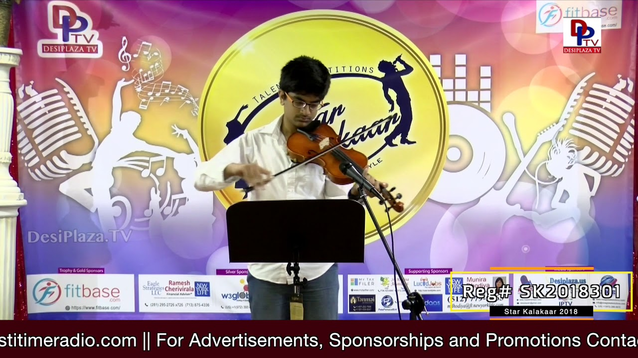 Participant Reg# SK2018-301 Performance - 1st Round - US Star Kalakaar 2018    DesiplazaTV