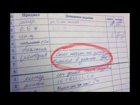 Приколы из школьных сочинений.