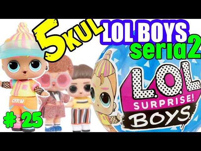 LOL surprise BOYS seria 2 PO POLSKU Nowe chłopaki LOL BOYS 2020