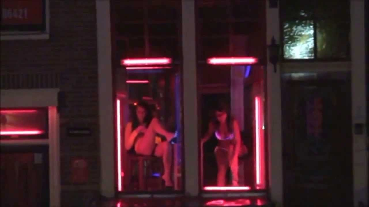 Видео секса на улице красных фонарей