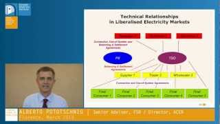 Alberto Pototschnig   Electricity Markets: The Wholesale Markets