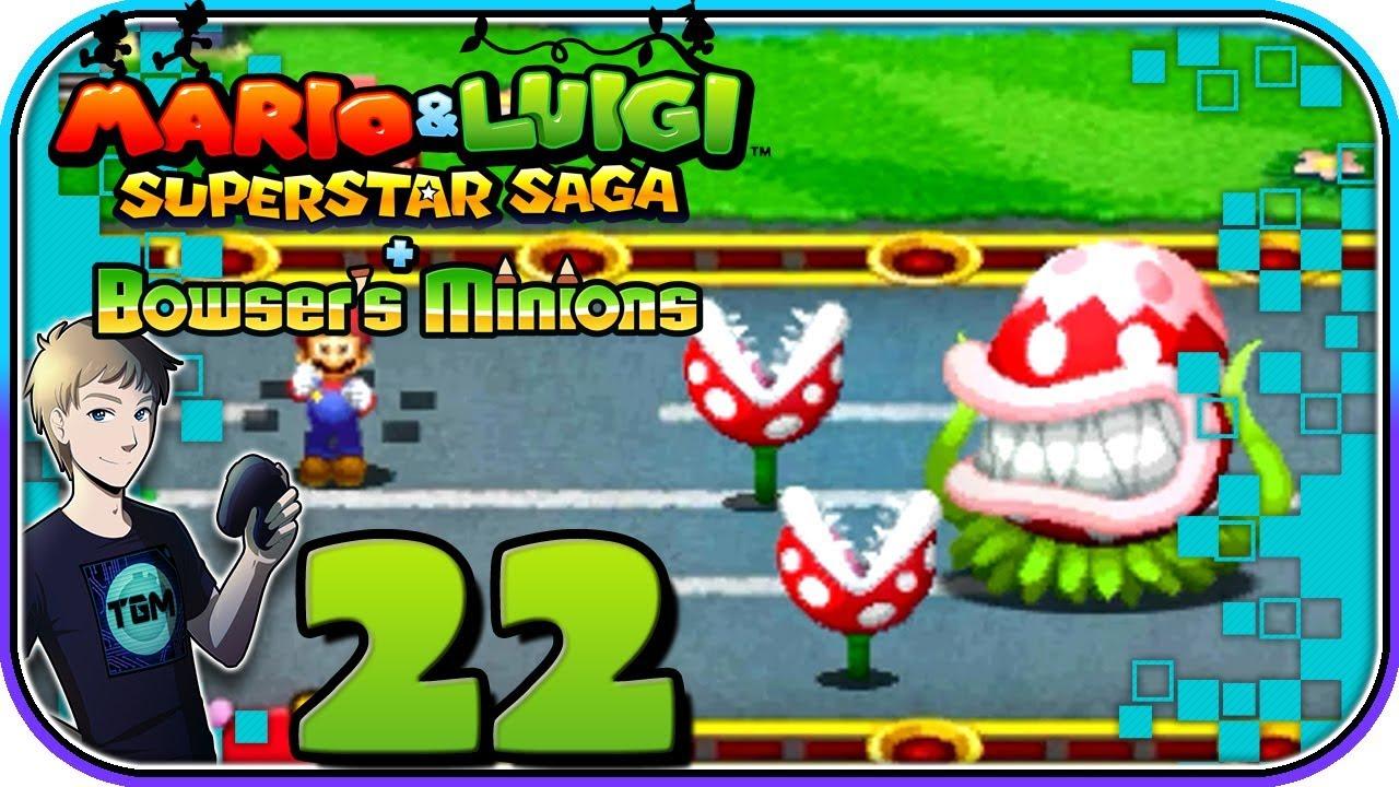 Mario Luigi Superstar Saga 3ds Walkthrough Part 22 Won T