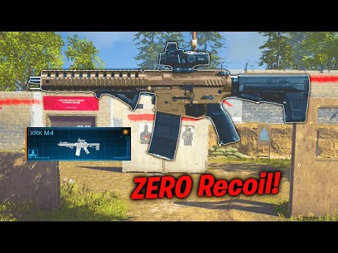 How To Have ZERO Recoil In MW! Secret XR4-M4 Weapon Variant MW (Best M4A1 Class Setup)
