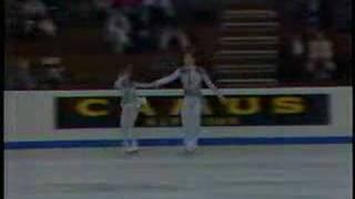 Ekaterina Gordeeva Sergei Grinkov SP 1988 Worlds