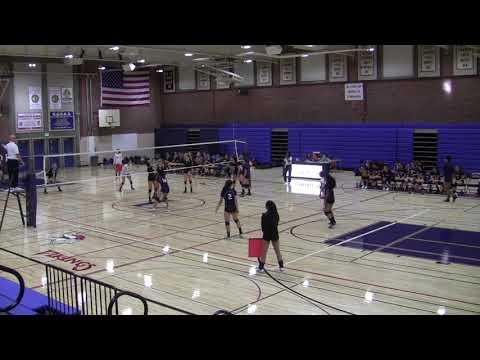 20170921 JV Girls Volleyball Lynbrook vs Los Gatos