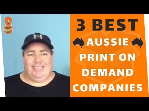 3 Best Aussie Print On Demand Companies - Dropship Downunder - Drop Shipping Australia
