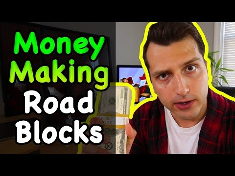 3 Roadblocks to Making $3,000/m Online With Affiliate Marketing