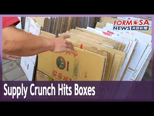 Farmers fear for business as supply crunch hits cardboard boxes