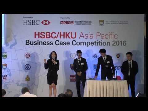 2016 Round 4 Team 3 HSBC/HKU Asia Pacific Business Case Competition