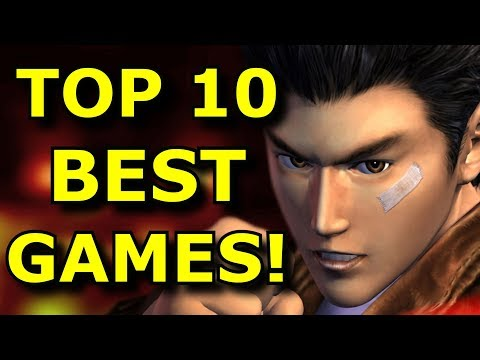 TOP 10 BEST Dreamcast Games EVER!