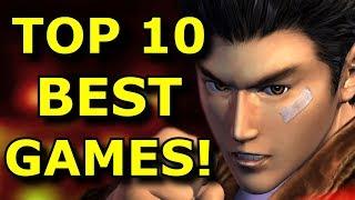 TOP 10 BEST Dreaṁcast Games EVER!