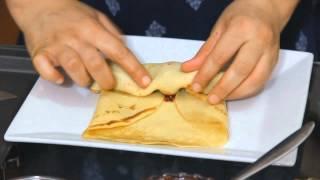 الشيف امال الرماحي تصنع اشكال مختلفة من عجينة الكريب Iraqi Cook