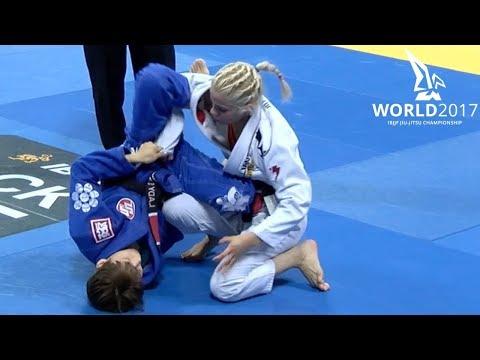 Rikako Yuasa vs Rayanne Amanda / World Championship 2017