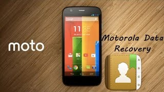 How to Recover Contacts from MOTO