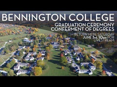 Bennington College 82nd Conferment of Degrees