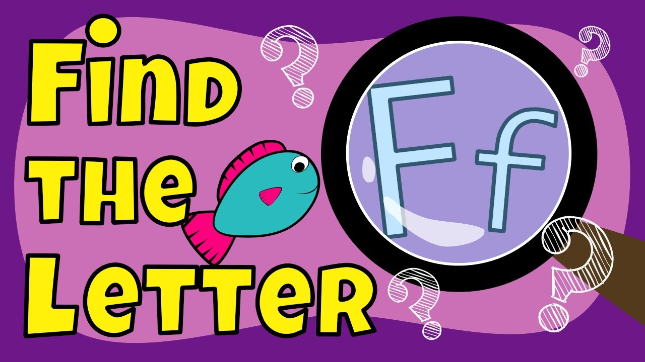 Letter F Games - Everything Preschool