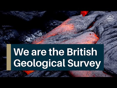 We are the British Geological Survey