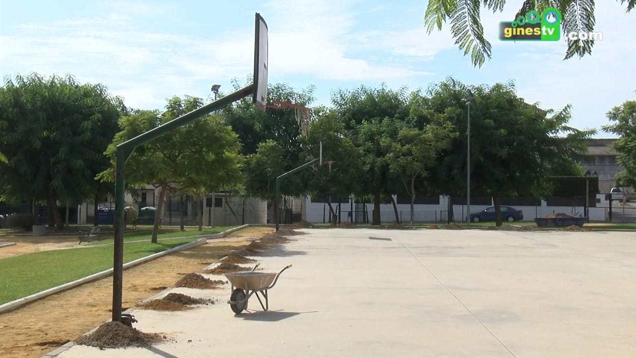 El Ayuntamiento inicia las obras de mejora en la zona deportiva del Parque Juan Pablo II