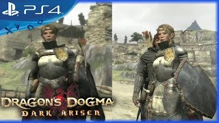 Dragon's Dogma: Dark Arisen (2017) - PS4 vs. PS3 Character Comparison Trailer