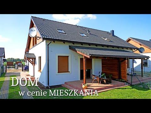 Oglądamy mały dom 106 m2 w cenie mieszkania Projekt i wnętrze pod klucz - Osiedle Azaliowe