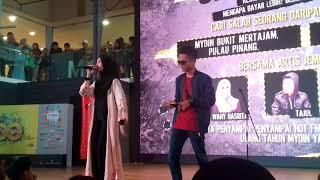 Gambar cover Wany Hasrita Ft Tajul Ariff - Disini Cinta Disana Rindu (undercover Hot Fm)