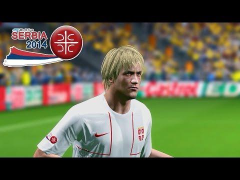 Serbia vs. Australia   jmc World Cup Serbia 2014   Pro Evolution Soccer 2014 (PES 2014)