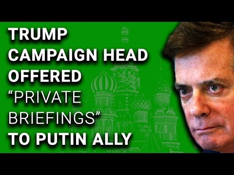 BREAKING: Trump Campaign Offered Russian Billiaire Private Briefings