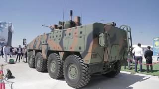 Новинки военной техники России на международной выставке вооружения БТР Барыс и обновленный танк