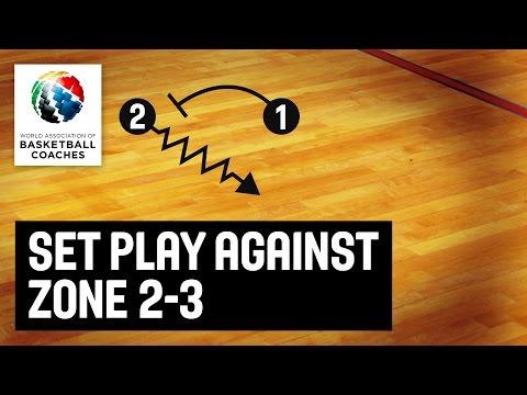 Set Play Against Zone 2-3 - Jasmin Repesa - Basketball Fundamentals