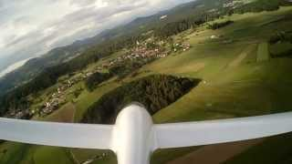 Apis Electro - Rc Self-launching Glider Model 6m M1:2.5