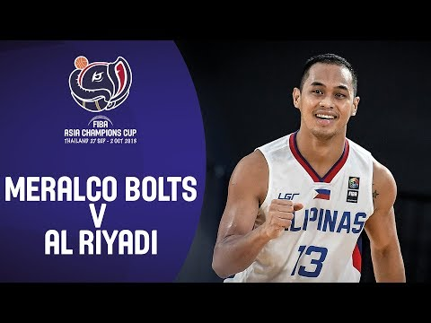 HIGHLIGHTS: Meralco Pilipinas vs. Al Riyadi (VIDEO) FIBA Asia Champions Cup 2018