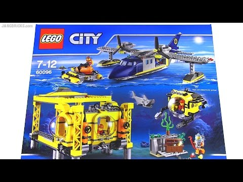 Built in 60 seconds: LEGO Deep Sea Operation Base 60096