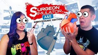 """CALLING DR.MARIO"" - Co-Op- Surgeon Simulator: A&E Anniversary Edition"