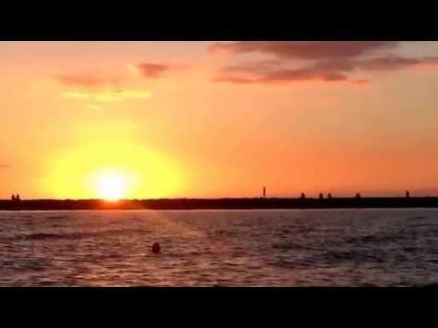 Pôr-do-sol em Waikiki