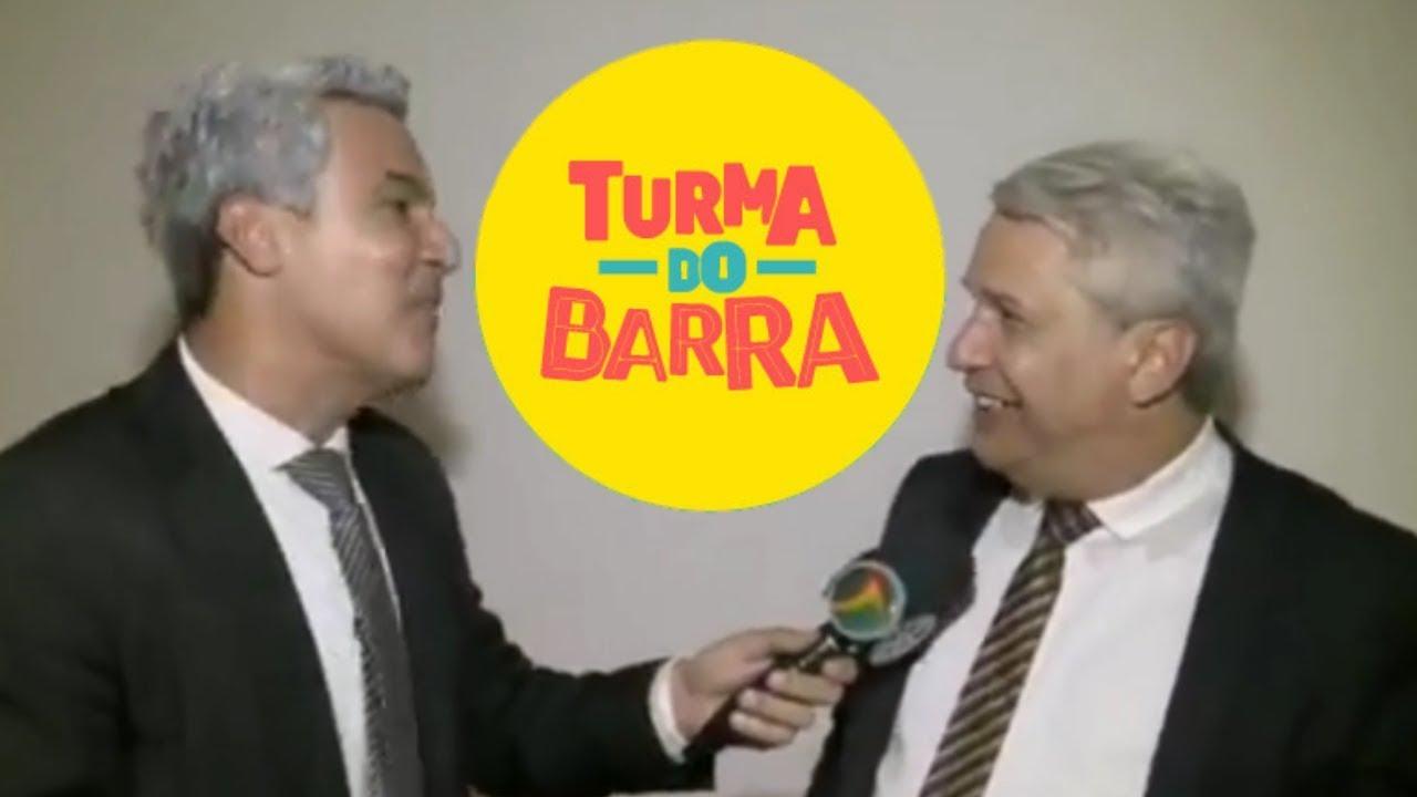 Sikera Jr na Turma do Barra (TV Jornal) com Flávio Barra.