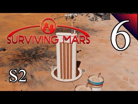 Surviving Mars (S2) 6:  Shuttles Make Light Work!  Let's Play Full Release Gameplay
