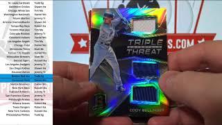 (Break ID: 2149) 2017 Chronicles Baseball 1-box break!
