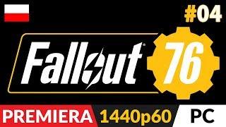 Fallout 76 PL z Arlinką  odc.4 (#4) - Live cz.1 ⛺️ Podstawy obozowania i ostatnia misja ochotników