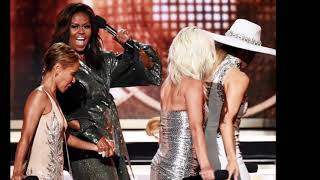 Grammys - Michelle Obama Gets Standing Ovation with Surprise Appearance