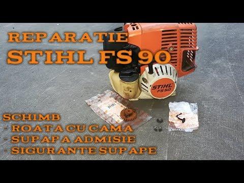 Reparație STIHL FS 90 !! Motor 4t Cu Ungere Prin Amestec, 4-MIX !!