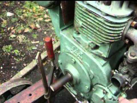 jap model 5 year 1947 petrol single cylinder stationary engine from YouTube · Duration:  31 seconds