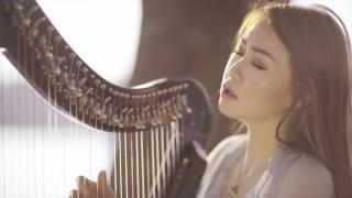 Video Damai Bersama-Mu - Chrisye (Vocal & Harp Cover by Angela July feat. Cindy Clementine) download MP3, 3GP, MP4, WEBM, AVI, FLV Juli 2018