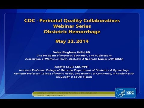 Obstetric Hemorrhage